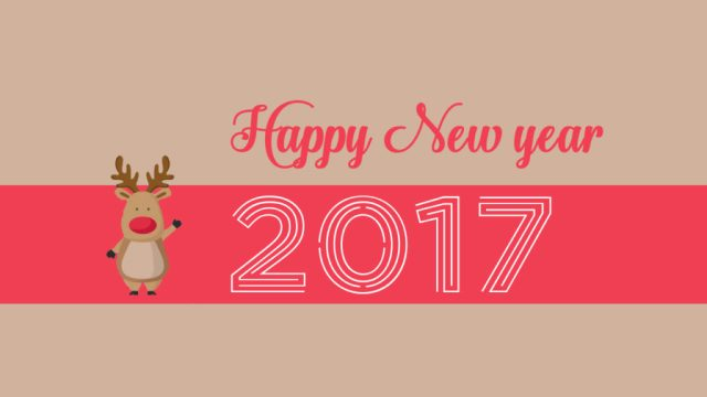 Happy New Year 2017 Best Wishes Image