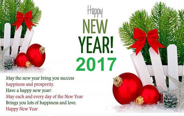 Happy New Year 2017 Wishes Message Image