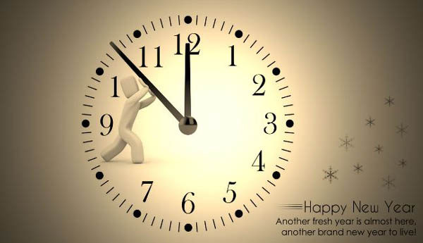 Happy New Year Count Down Image