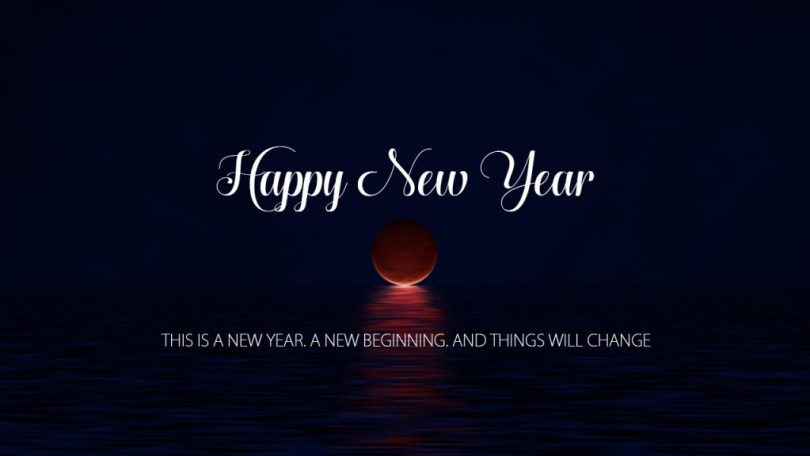 Happy New Year Message (2)
