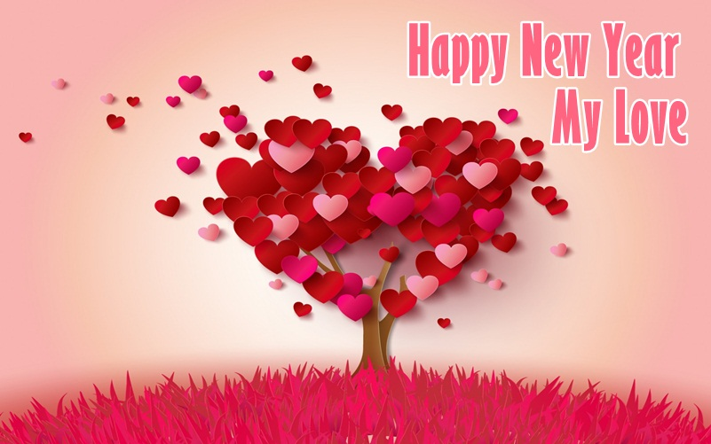Happy New Year My Love Wishes Lovely Image