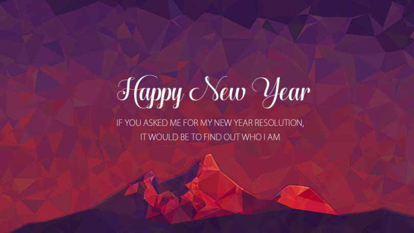 Happy New Year Resolution Wishes Wallpaper