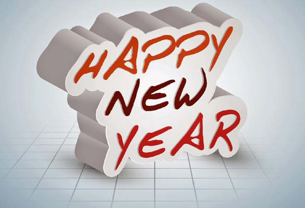 Happy New Year Wishes For Friends Image