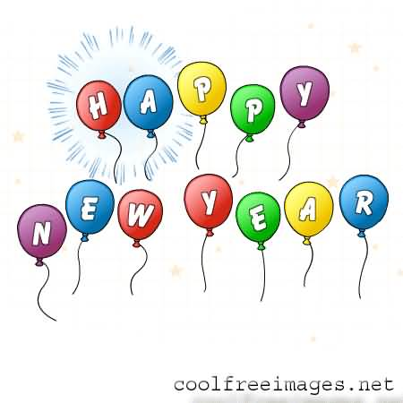 Happy New Year Wishes Greeting Image