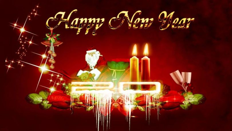 Happy New Year Wishes Wallpaper
