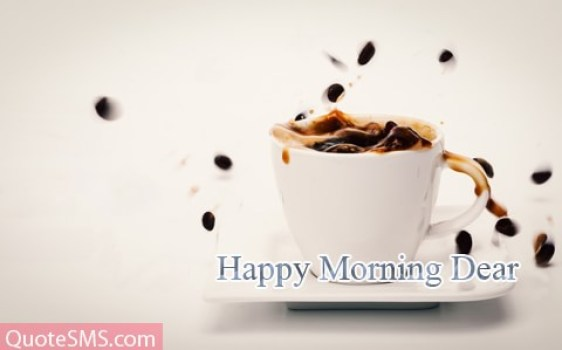 Have A Coffee Good Morning Message Image
