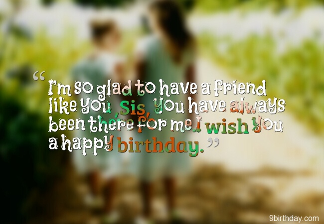 Have A Wonderful Birthday Sister Wishes Message Image