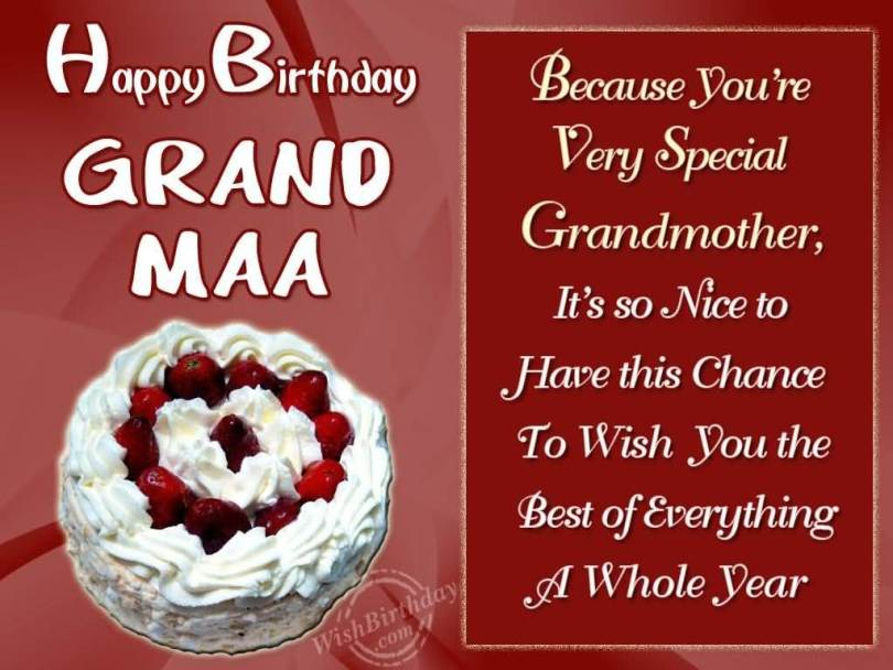 Hope Birthday Would Bring A Lot Of Smile Happy Birthday Grandma