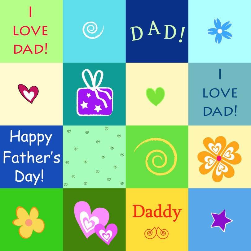 I Love Dad Happy Father's Day Wishes Image