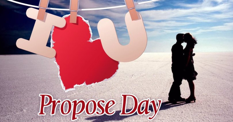 I Love You Happy Propose Day Wallpaper