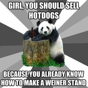 I Love You Memes Girl you should sell hotdogs because you already know how to make a weiner stand Pictures