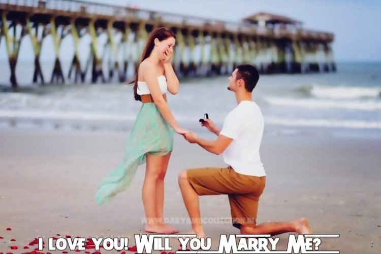 I Love You Will You Merry Me Lovely Greetings On Happy Propose Day