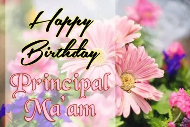 Incredible Happy Birthday Principal Ma'am Wishes Image
