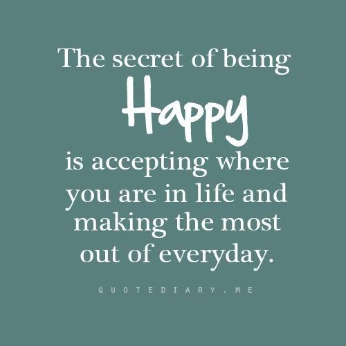 Inspirational Happiness Quotes Sayings 3