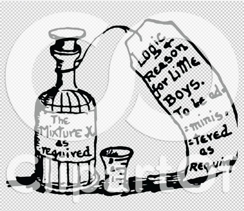 Inspiring Black And White Color Ink Vintage Black And White Medicine Bottle Tattoo Sample For Boys