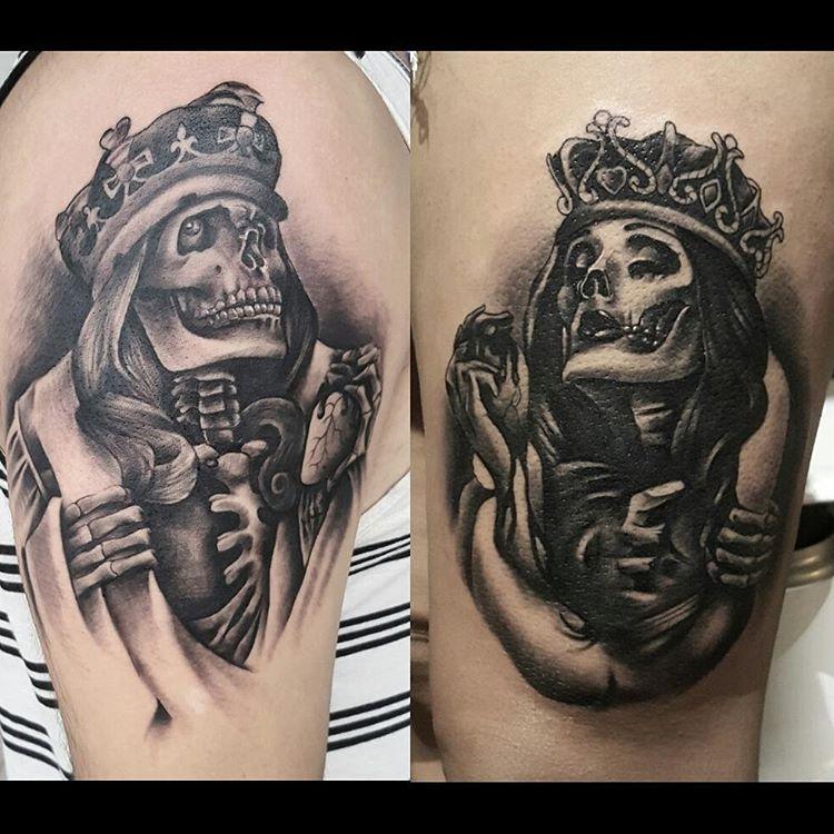 10+ Beautiful King Queen Tattoo For Beautiful Couples