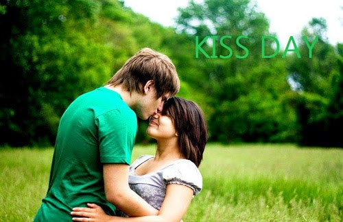 Kiss Day Special Greeting Image