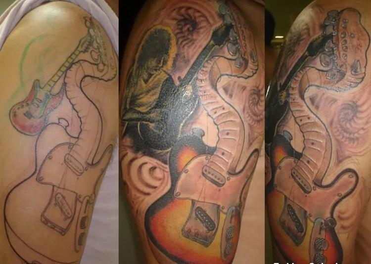 Rock Band Tattoo 025