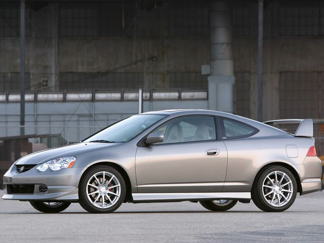Left side view of Acura RSX Car