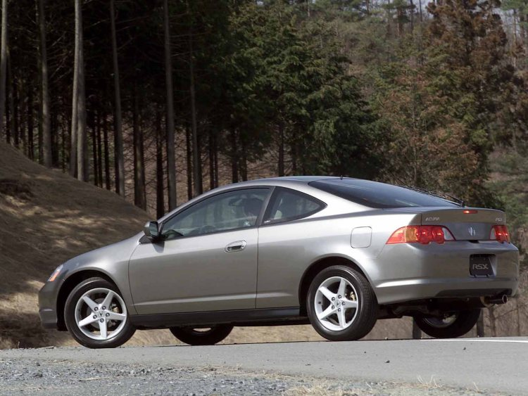 Left side view of beautiful Acura RSX Car