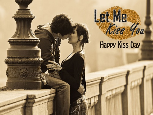 Let Me Kiss You Happy Kiss Day