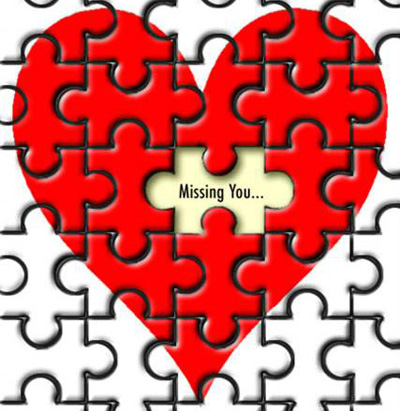 Love Missing You Puzzle Image