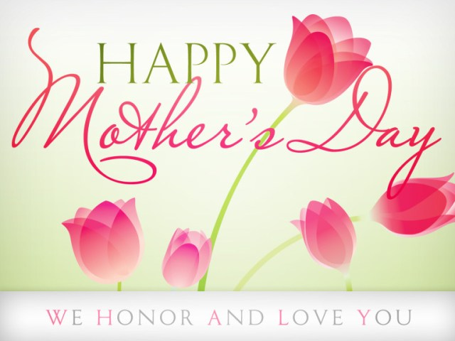 Love You Mom Happy Mothers Day Wishes Image