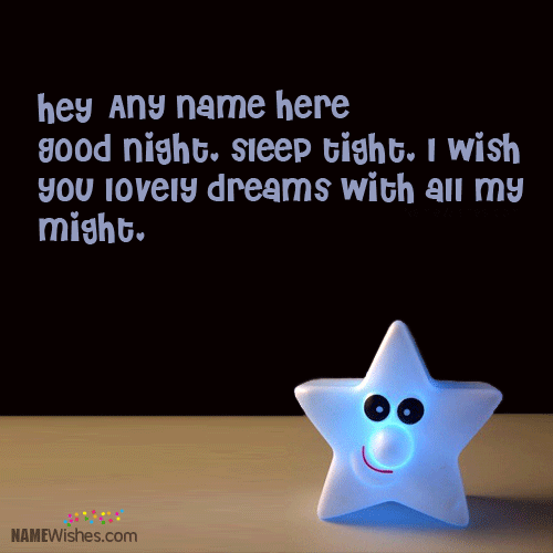 Lovely Dreams Good Night Message Image