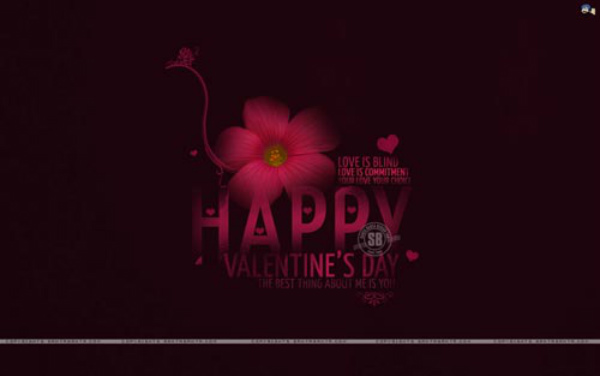Lovely Girlfriend Greetings Happy Valentine Day