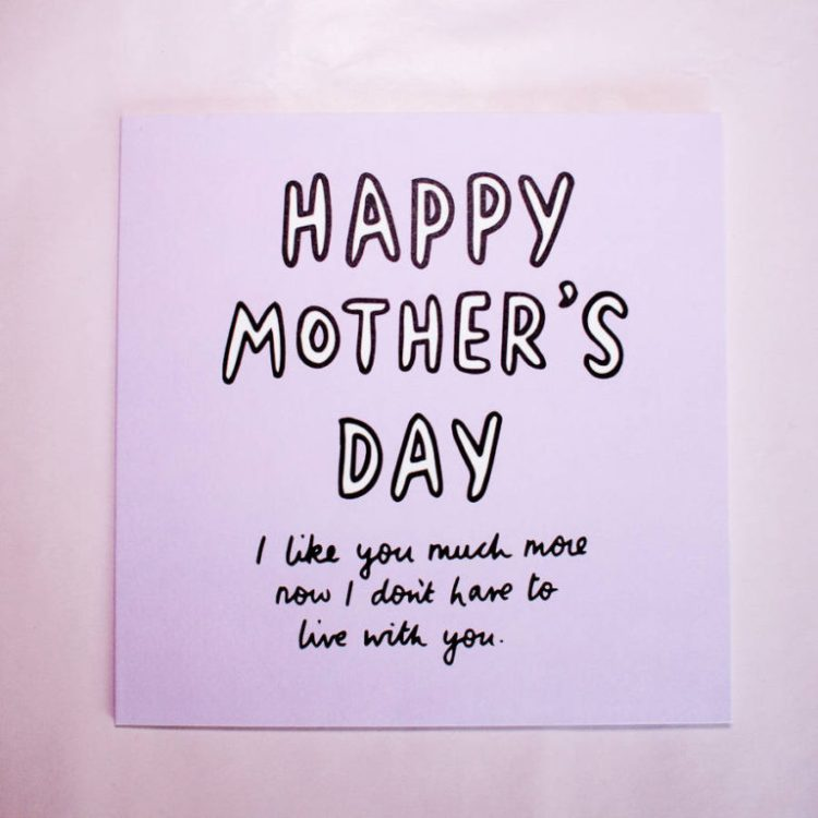 Lovely Happy Mothers Day Greetings Card Image