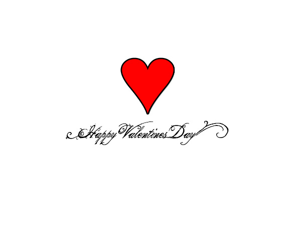 Lovely Happy Valentine Day Wallpaper