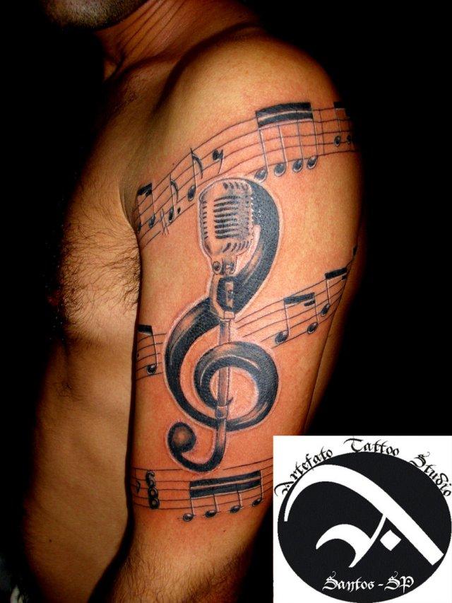 Rock Band Tattoo 044