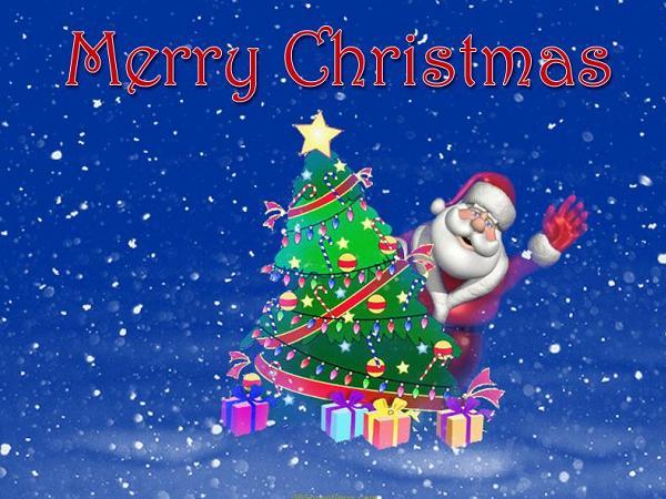 Merry Christmas Festival Image
