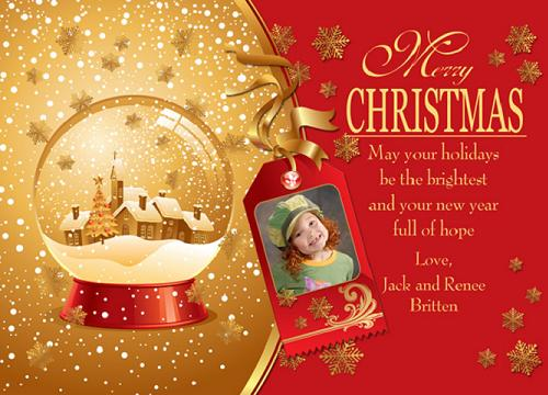 Merry Christmas Message Image