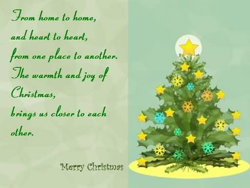 Merry Christmas Message Picture