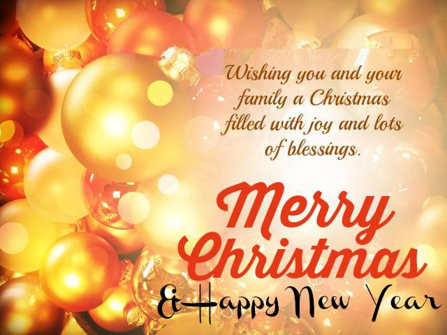 Merry Christmas Wishes & Happy New Year