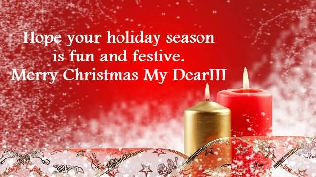 Merry Christmas Wishes Image To Lovely Friends