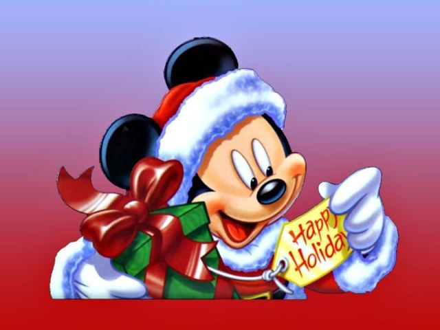 Mickey Mouse Happy Holiday Wishes