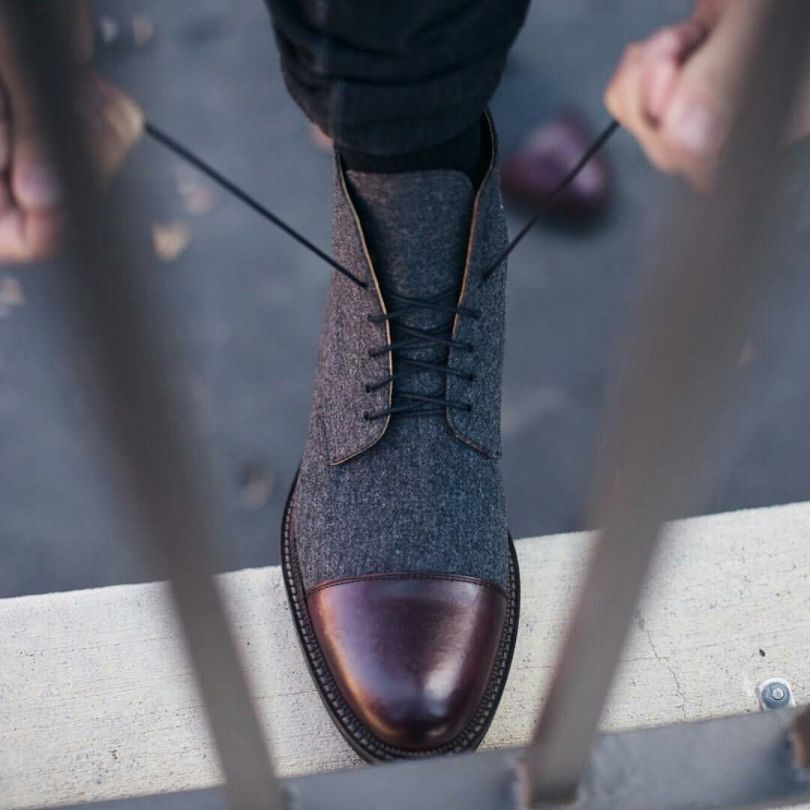 Mind Blowing Black Leather Shoe For Handsome Men
