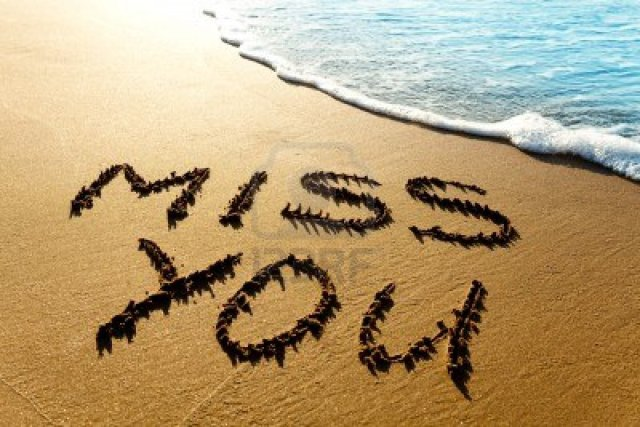 Miss You Friend Wishes Image