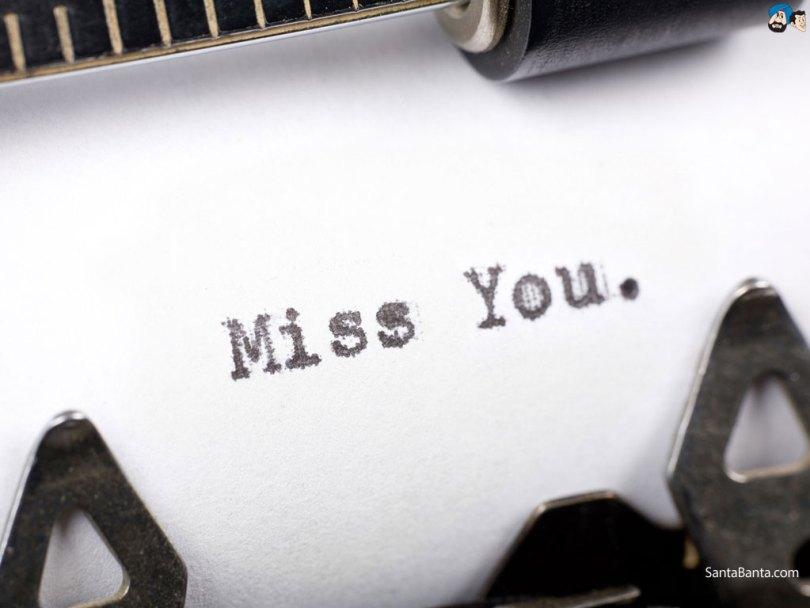 Miss You Wallpaper