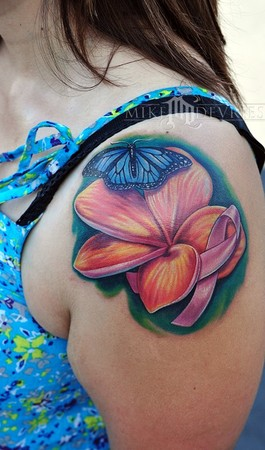 52 Famous Breast Cancer Tattoos Signs And More Picsmine