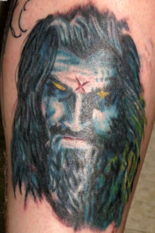 Most Great Rob Zombie Tattoo With Colorful Ink