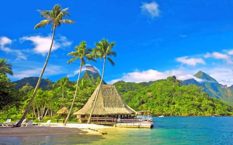Most Incredible Beach Landscape For Desktop Full HD Wallpaper