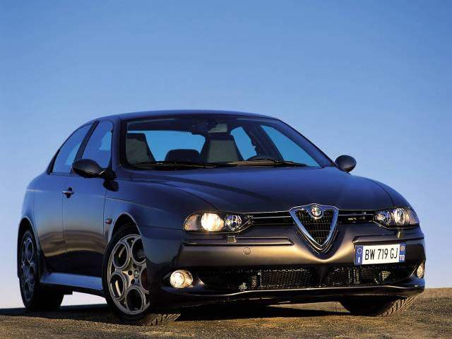 Most popular black Alfa Romeo 156 GTA Car