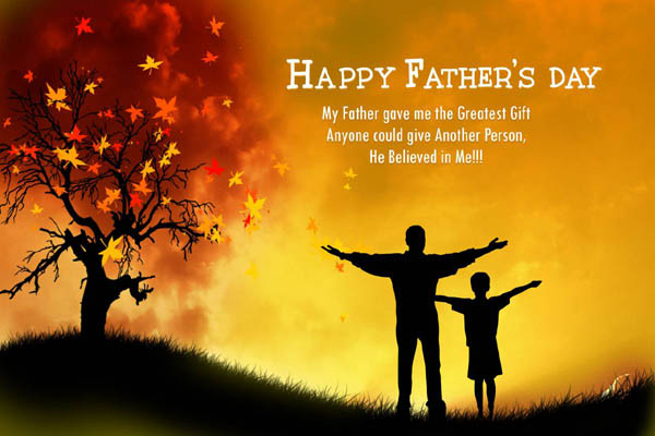 My Father Is Best Happy Father's Day Quotes Image