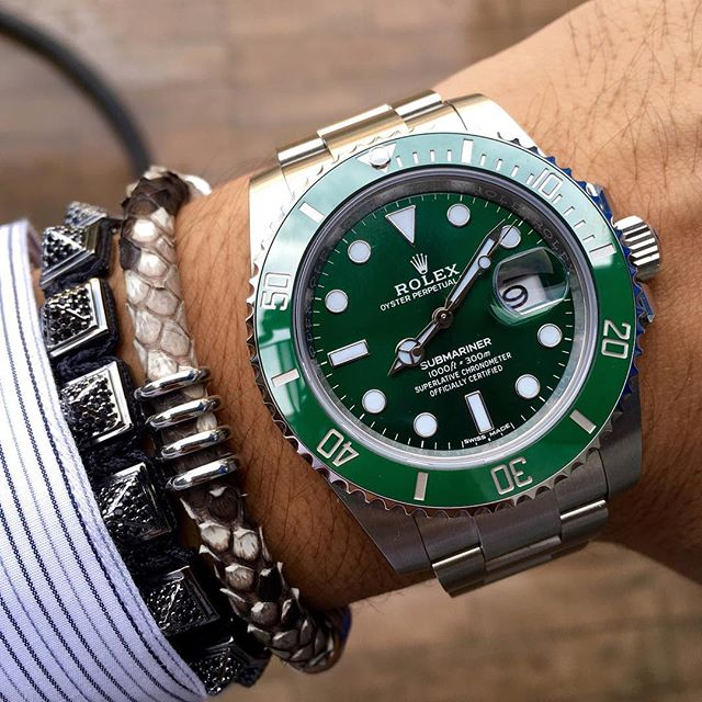 My Favorite Platinum Rolex Watch With Amazing Bracelet Jewelry