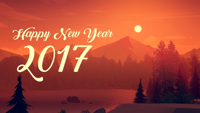 New Year 2017 Best Wishes Wallpaper