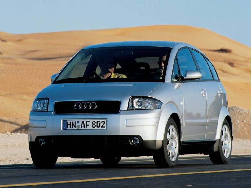 Nice Silver Audi A2 Car