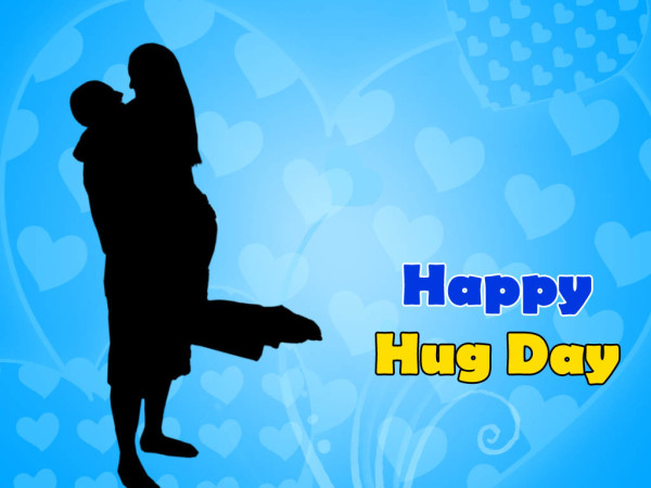 Perfect Happy Hug Day Greetings Image